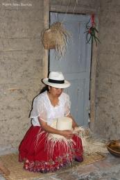 Fabrication des Panamas, Cuenca, Equateur