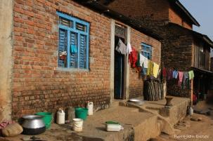 Ferme du village de Bandipur, Nepal, Mars 2012