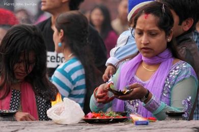 Cérémonie, Pokhara, Nepal, Mars 2012
