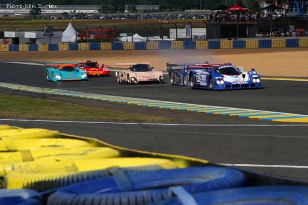 Départ de la course des Groupe C, Le Mans 9 juillet 2016