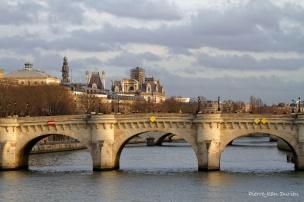 Le Pont-Neuf, Paris, Janvier 2016