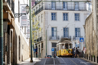 Tramway, Lisbonne, Avril 2017