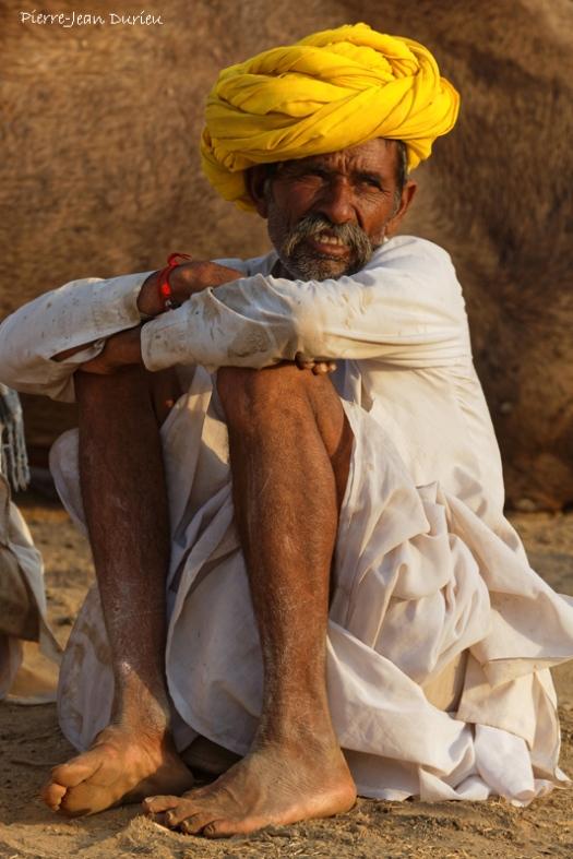 Eleveur de chameau à Pushkar, Rajasthan, Octobre 2017