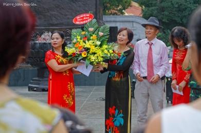 Fleurs, Hanoi, octobre 2016