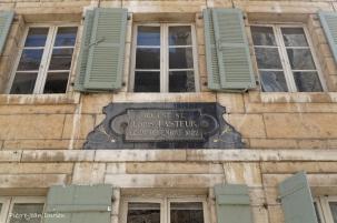 Maison natale de Pasteur à Dôle