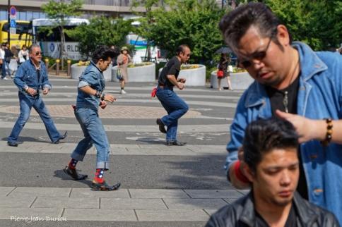 Concours de Rockabilly, parc de Yoyogi,Tokyo, mai 2019